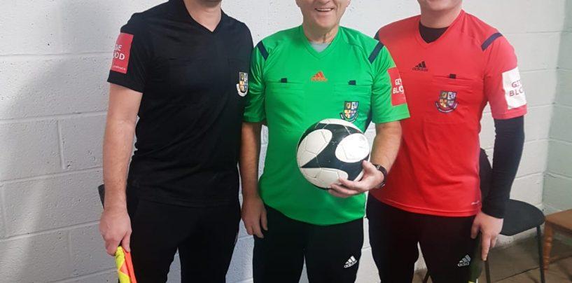 Referee's Report (Graham Kelly)