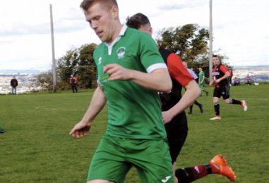 Aaron Kidney Has Huge Ambitions When Greenwood Return To Playing Football