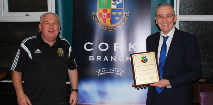 Cork Is Very Fortunate To Have A Dedicated Football Man Like Finbarr Buckley