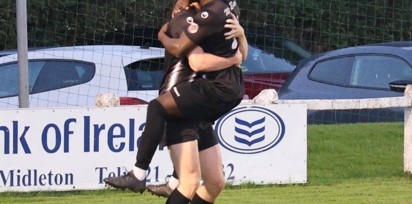 Nguefang Double Helps Midleton To Three Points Over Cobh Wanderers